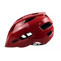 Wholesale Breathable Mountain Bike Enduro Helmets / Red Enduro Bike Helmet With Visor from china suppliers