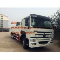 Buy cheap ZZ1257S4341W 6X4 30T HYVA front lift SINOTRUK HOWO CARGO TRUCK LORRY TRUCK from wholesalers
