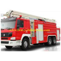 Wholesale Modern Fire Truck 6x4 12 CBM with warranty and spare parts , Fire Vehicle Equipment from china suppliers
