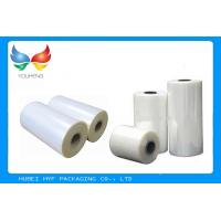 Quality Shrinkage PVC Plastic Shrink Film Rolls 150-1000mm Width For Bottle Label Printing for sale