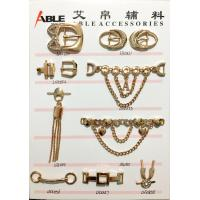 China Custom Factory Price Nickle Free Metal Zinc Alloy Shoe Chain Buckle For Men on sale