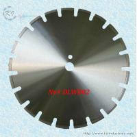 Wholesale Laser Welded Diamond Saw Blade for Cutting Asphalt and Green Concrete - DLWB02 (U slot) from china suppliers