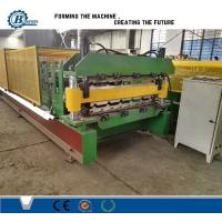 Wholesale Aluminium Color Coated Metal Roll Forming Machine For Wall And Roof Cladding from china suppliers