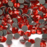 Wholesale ss20 siam color MC stone hot fix crystal stone for clothing from china suppliers
