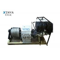 Wholesale High Efficiency 3t Faster Air Cooling Gasoline Engine Powered Winch from china suppliers