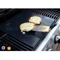 "Wholesale PTFE Teflon BBQ Grill Mat / Non Stick Silicone Baking Mat 15.75x13"" 0.2mm from china suppliers"