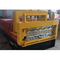Wholesale Steel Roof Deck / Floor Deck Roll Forming Machine Panasonic PLC Control Durable from china suppliers