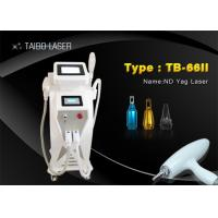 Wholesale Hair Removal E-light IPL RF ND YAG Laser Wrinkle Removal Tattoo Removal from china suppliers