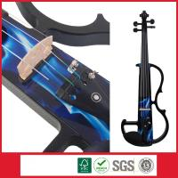 Wholesale Electric Visual Arts Solid Body Violin 4/4 With Violin Bow Violin Case from china suppliers