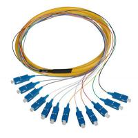 Wholesale Colored Fan-out Pigtails Fiber Optic Patch Cord Customized Length from china suppliers