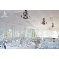 Quality White Water Repellent PVC Fabric Cover Aluminum Frame Wedding Decoration Tent for sale