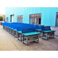 Wholesale Custom Steel Construction Industrial Work Benches With Hardwood Fireproofing Board from china suppliers