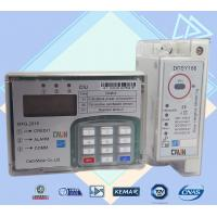 Wholesale 35mm Din Rail Electric Meter Power Line Carrier Prepayment Electricity Meter from china suppliers
