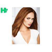 Wholesale Popular Brown Color Synthetic Front Lace Wigs High Temperature Fiber Straight Hair Wig from china suppliers