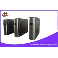 Wholesale Custom bi - directional Security Flap Barrier Gate Pedestrian Turnstiles from china suppliers