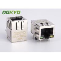 Wholesale Right Angle shielded 8p8c Communication RJ45 port with Transformer, G/Y from china suppliers
