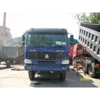 Wholesale HOWO chinese strong mine dump truck 336hp 6x4 / 8x4 with Q345 Steel cargo body from china suppliers