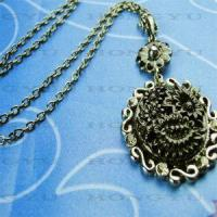Wholesale Flower Antique Necklaces from china suppliers
