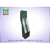 Wholesale Foldable corrugated material cardboard hooks display stands for Mobile phone accessories from china suppliers