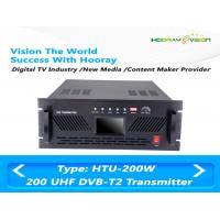 Wholesale Indoor 200W MUDS Broadband Terrestrial UHF TV Transmitter Standard DVB-T2 DVB-C from china suppliers