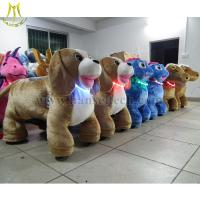Wholesale Hansel Amusement Rides animal rider animation guangzhou coin operated electric toy car from china suppliers