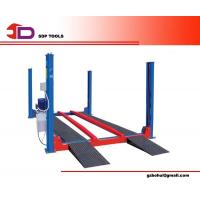 Wholesale Adjustable Automotive Car Lifts, Alignment Four Post Car Lift, Electric-air Control from china suppliers