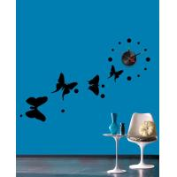 Wholesale Butterfly Designer Wall Sticker Clocks 10A068 / Wall Decoration from china suppliers