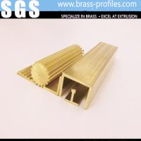 Buy cheap C38000 2% Lead Brass Profiles Extrusions For Home / Hotel Plans from wholesalers