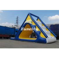Wholesale 0.9MM Thickness PVC Tarpaulin airtight giant inflatable aqua glide from china suppliers