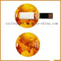 Wholesale Promotional Card USB Flash Drive/USB Flash Storage from china suppliers