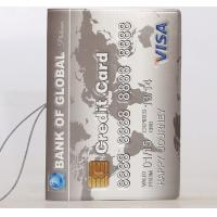 Wholesale Creative 3D Bank Card Travel Pasport Holder from china suppliers