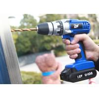 Wholesale 18V 1.5Ah Li-ion Wireless Power Tool Cordless Electric Drill with Rechargeable Battery / LED Light from china suppliers