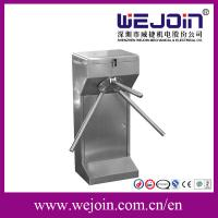 Quality 304 Stainless Steel Subway Tripod Turnstile Entry Systems Intelligent Barrier for sale