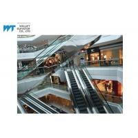 Wholesale Glass Shopping Mall Escalator Customized Handrail Color Afford 6000 Passengers Per Minute from china suppliers