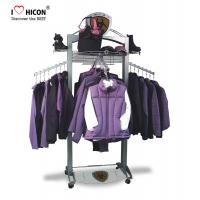Buy cheap Customization Clothing Store Fixtures Clothes Retail Shop Rack Shop Fittings 4-way from wholesalers