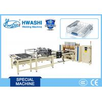 Wholesale Dishwasher Wire Rack /  Wire Shelf Welding Machine With X Y Axis Wire Dropping Hopper from china suppliers