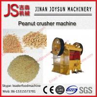 Wholesale SUS 304 Stainless Steel Peanut Crusher Machine 60 - 1200 t / h from china suppliers