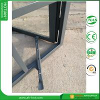 Wholesale casement crank window handle steel casement windows with double tempered glass from china suppliers