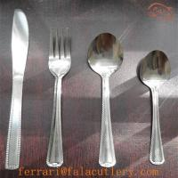 Wholesale Low Quality Machine Polish 410 Stainless Steel Flatware Set from china suppliers
