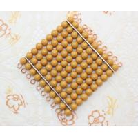 Wholesale Montessori Materials - 9 Golden Bead Hundred Squares (Pearl color) from china suppliers