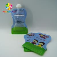 Wholesale Reusable Food Pouch Packaging / Leak Proof Baby Food Pouches With Dual Zipper from china suppliers