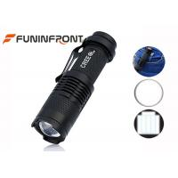 Wholesale CREE XPE Q5 LED Flashlight Adjustable Focus, Hard Light Clip LED Torch from china suppliers