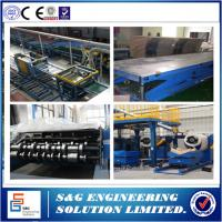Wholesale Continuous PU Sandwich Panel Production Line PLC Control Rubber Belt from china suppliers