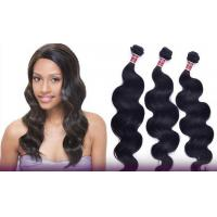 Wholesale Shedding Free One Donor Peruvian Remy Human Hair No Mixtures Double Weaving Hair from china suppliers