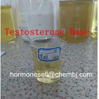 Wholesale 99% Testosterone Base/  Testosterone no ester Raw Steroid Powders Increase Muscle Dense from china suppliers