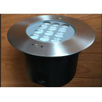 Quality 304 Stainless Steel RGB Recessed LED Underwater Lights 2700K ~ 6500K for sale