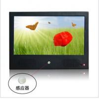 Wholesale Black 10 Inch Wall Mount Motion Sensor Digital Photo Frame Support Display Fix from china suppliers