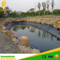 Wholesale fish farming equipment waterstop geomembrane/high tear resistance pond liners for water from china suppliers