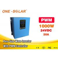 Quality Pure Sine Wave Solar Powered Inverter 1000w 12v 24v To 110v 220v UPS Inverter Egypt for sale
