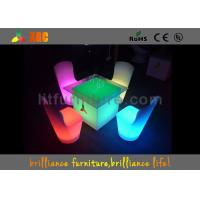 Wholesale Round Multifunctional LED Coffee Tables Waterproof , 100v - 240V from china suppliers